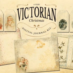 A Very Victorian Christmas Digital Journal Kit