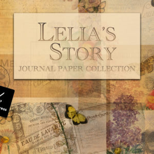 Lelia's Story Journal Paper Collection