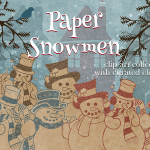 Paper Snowmen Design Collection