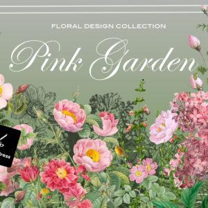 Pink Garden Floral Designer Kit