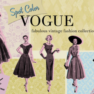 Spot Color Vogue Fashion Collection