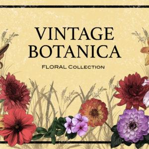 Vintage Botanica Floral Collection