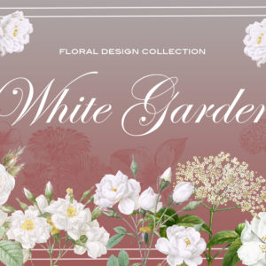 White Garden Floral Design Collection