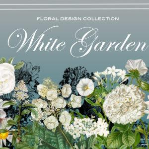 White Garden II Floral Designer Kit