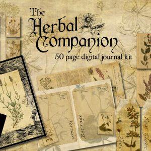 TheHerbalCompanionJournalKitCover
