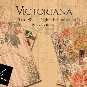 VictorianaDigitalPrintableCoverEtsy