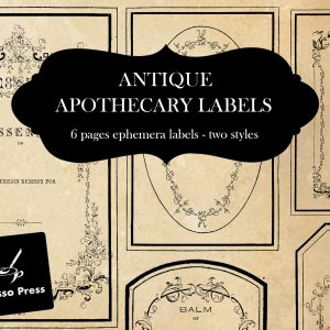 apothecarylabelcoveretsy