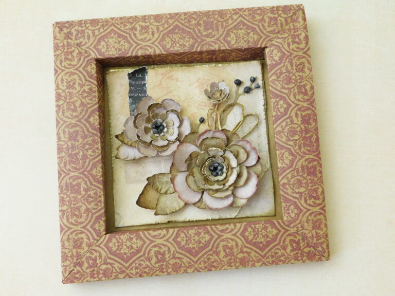 Showcase – Shaped Paper Flowers