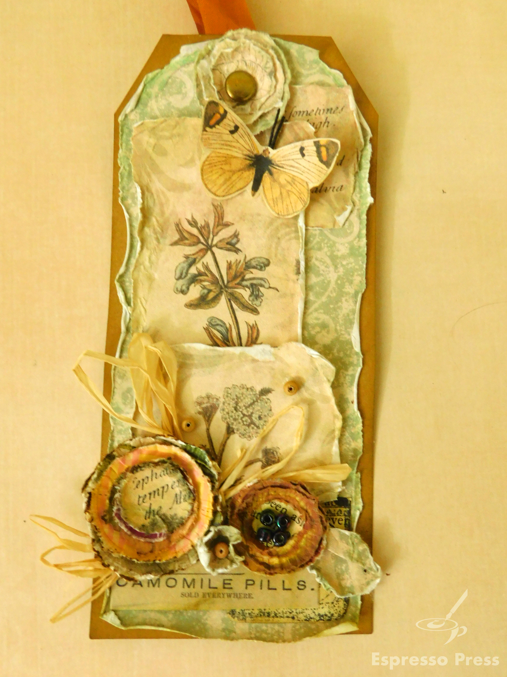 Read more about the article Herb Garden Shabby Tag