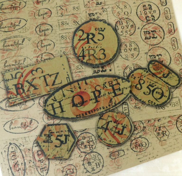 DIY Labels – No Dies – No Stamps