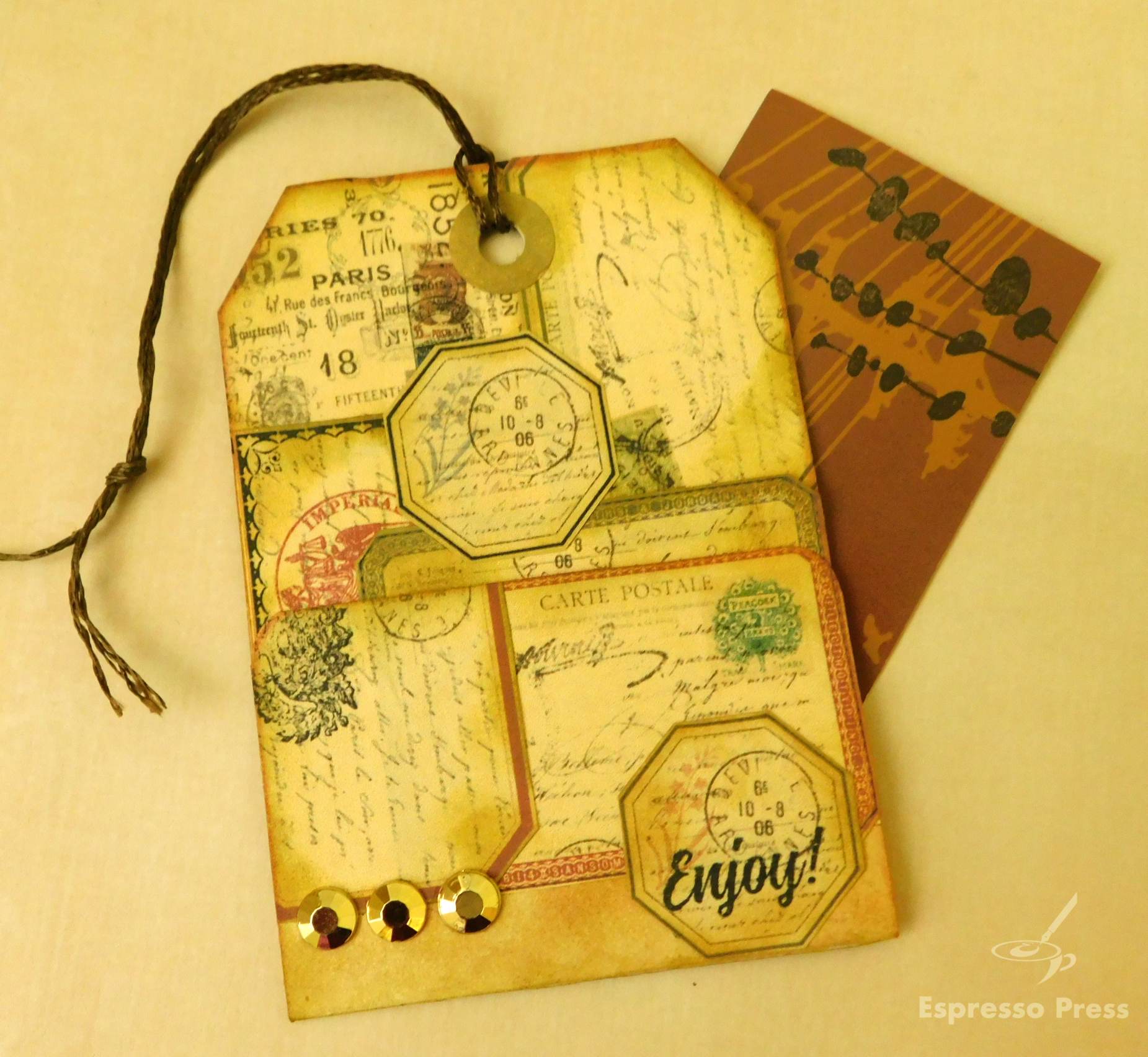 Read more about the article Vintage Gift Card Tag